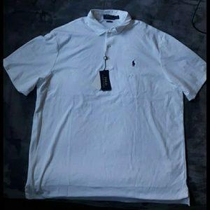 XL White POLO Shirt